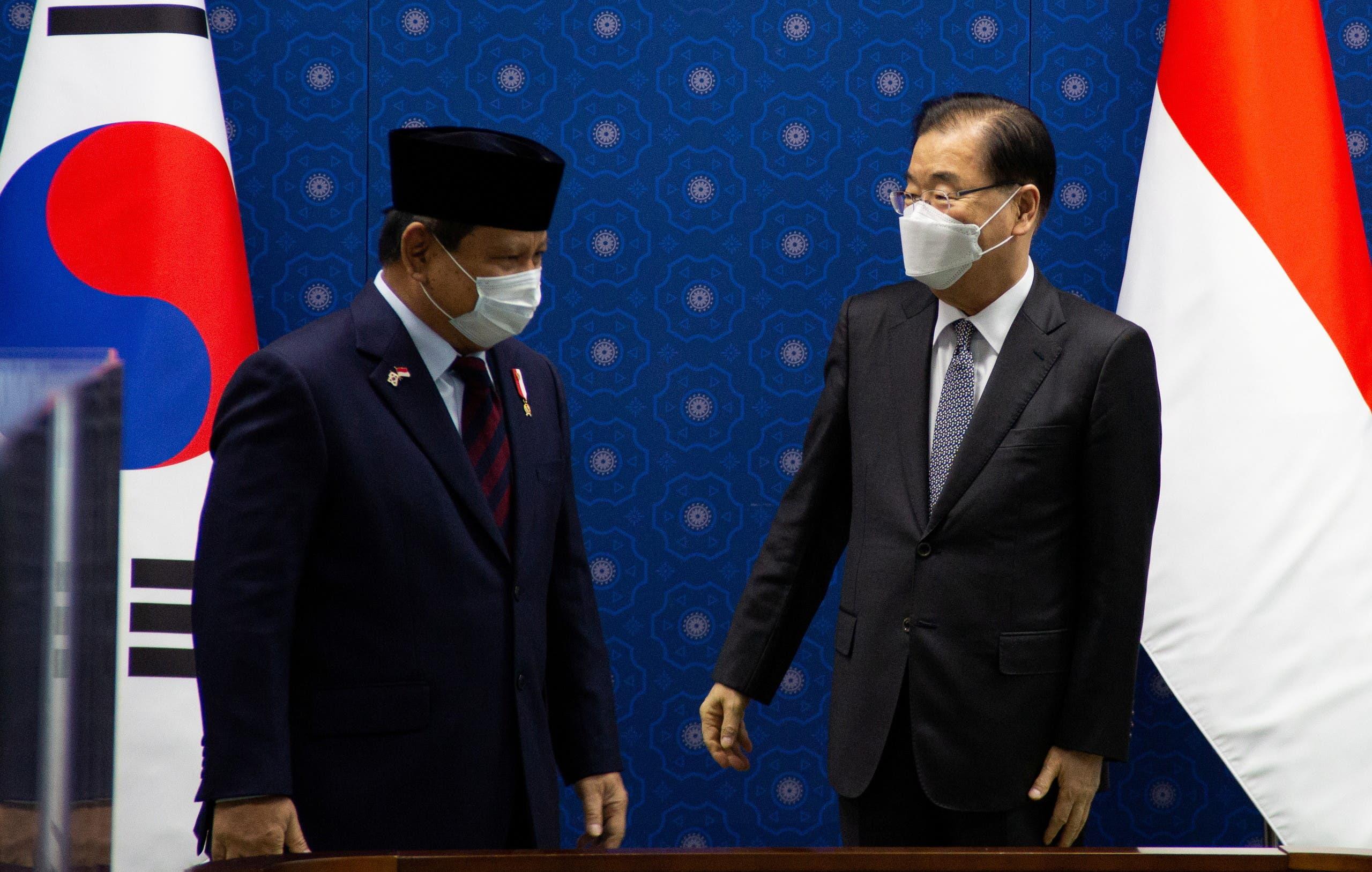وزير الدفاع الإندونيسي يزور سيول اليوم