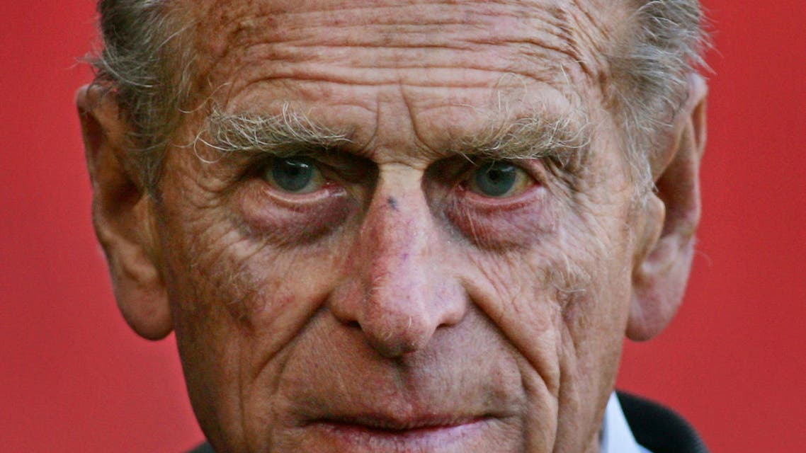 n this file photo taken on October 26, 2006 Britain's Prince Philip, Duke of Edinburgh walks off the pitch after officially opening the Emirates Stadium in London. Queen Elizabeth II's 99-year-old husband Prince Philip, who was recently hospitalised and underwent a successful heart procedure, died on April 9, 2021, Buckingham Palace announced. (File photo: AFP)