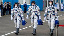 American astronaut, Russian cosmonauts dock at International Space Station
