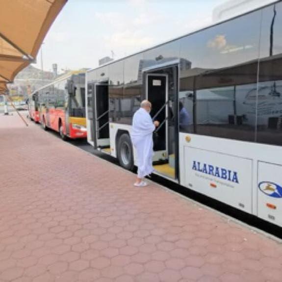 سيارات نقل المعتمرين بمكة تتأهب لشهر رمضان