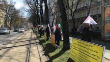 دور دوم نشست وین با تجمعات اعتراضی ایرانیان همراه شد