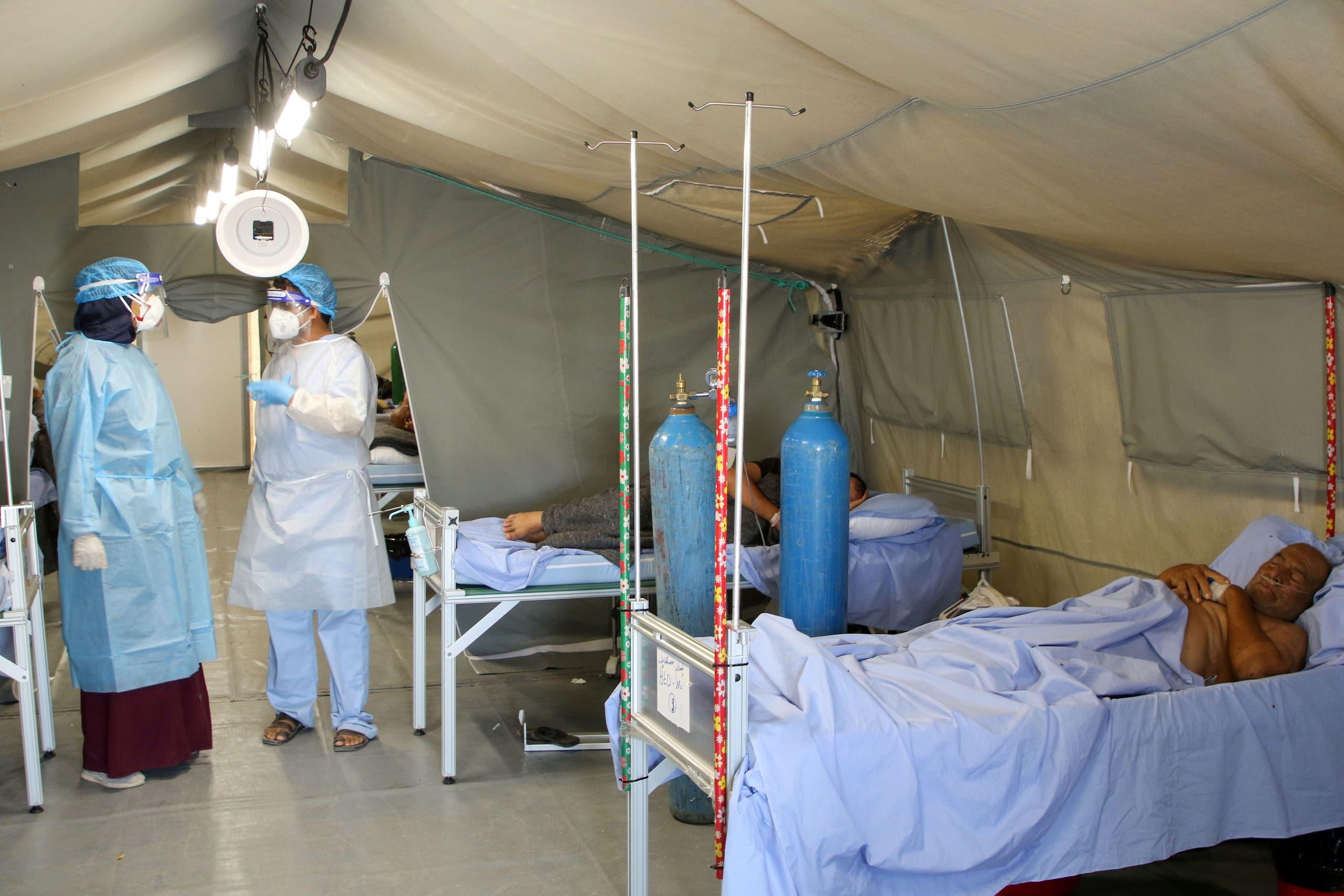 مركز لعلاج المصابين بكورونا في عدن