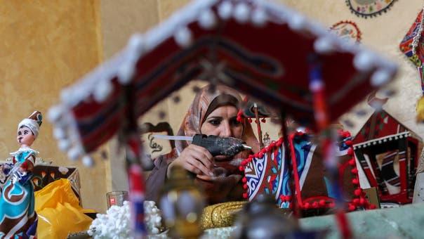 Gaza woman creates iconic handmade decorations for Ramadan
