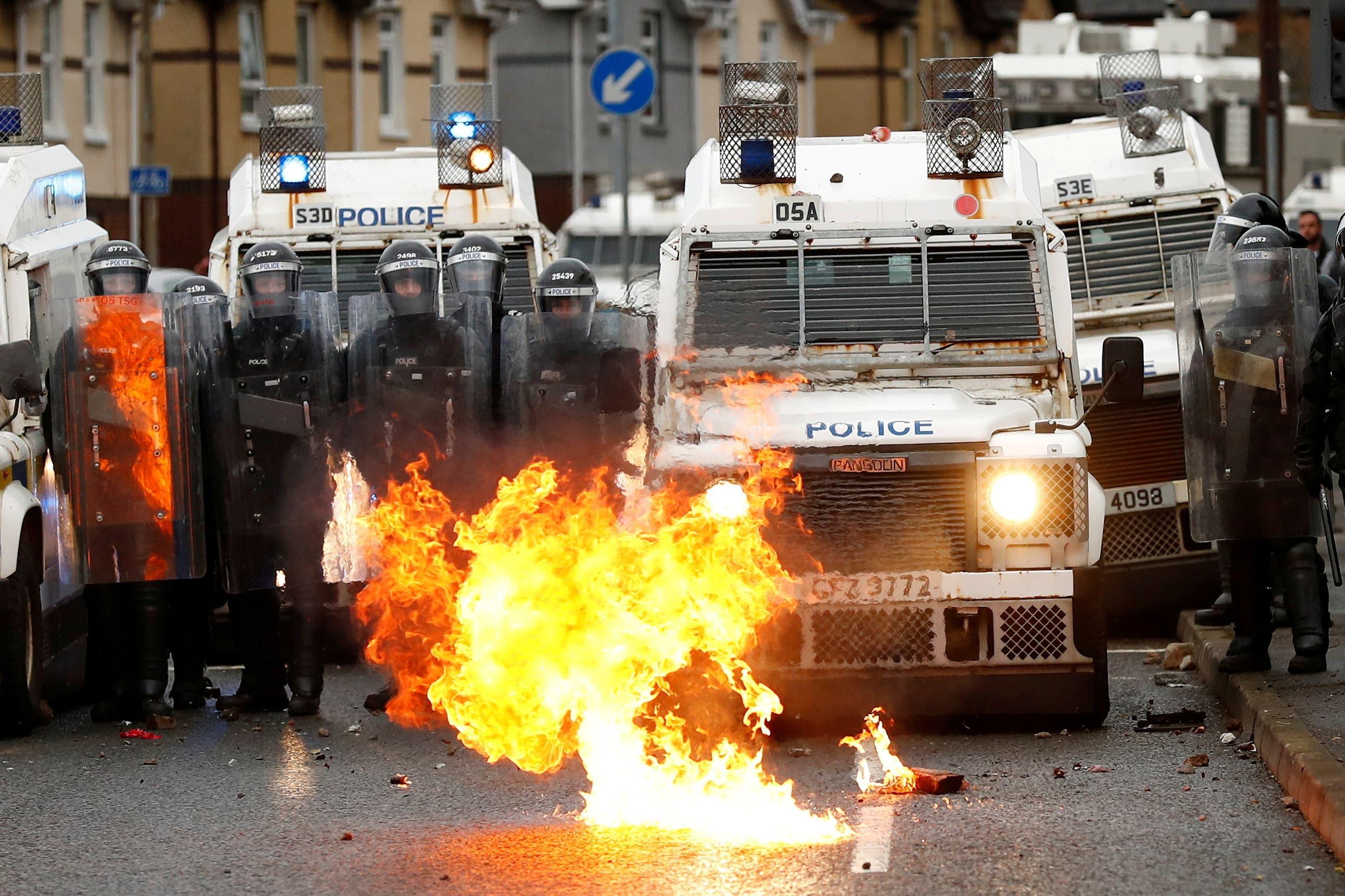 استهداف الشرطة في بلفاست