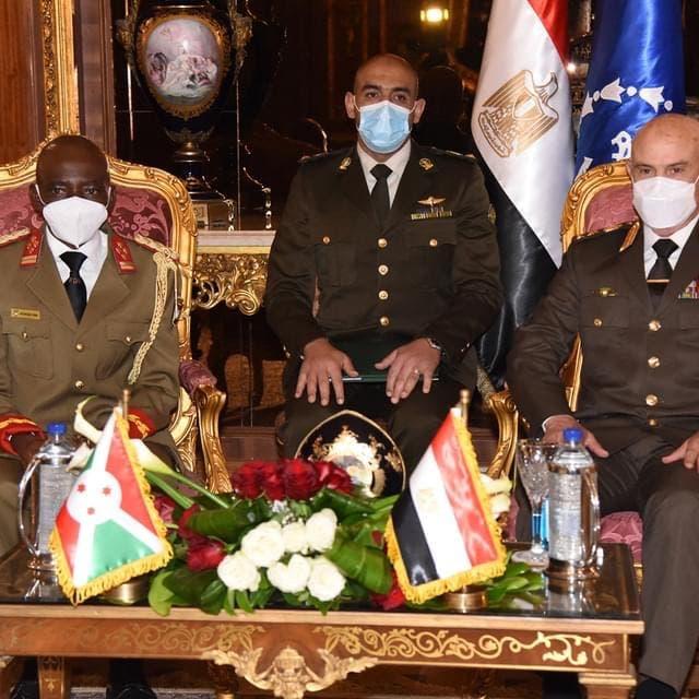 توقيع اتفاق تعاون عسكري بين مصر وبوروندي وسط أزمة سد النهضة