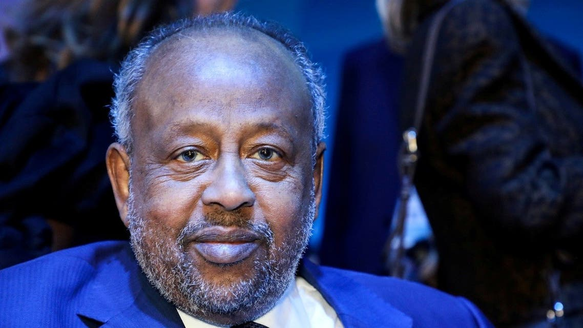 Djibouti's President Ismail Omar Guelleh attends the plenary session at the start of the Paris Peace Forum, France November 12, 2019. (Reuters)