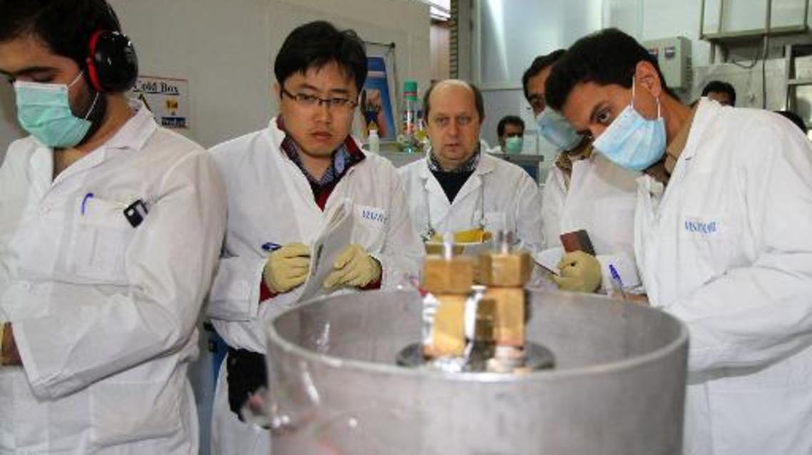 بازرسان آژانس هسته ای در نیروگاه نطنز