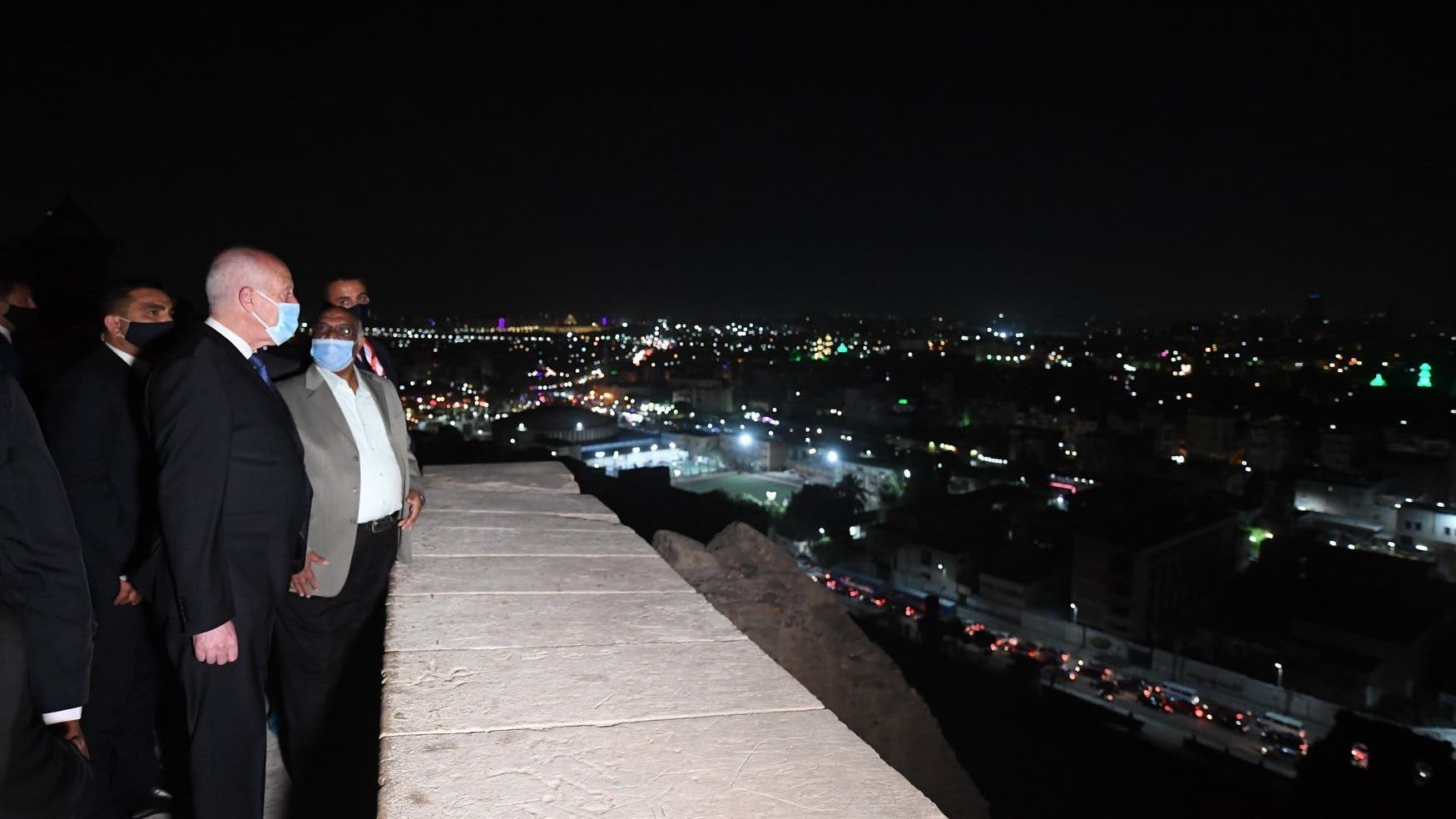 الرئيس التونسي في جولة القاهرة