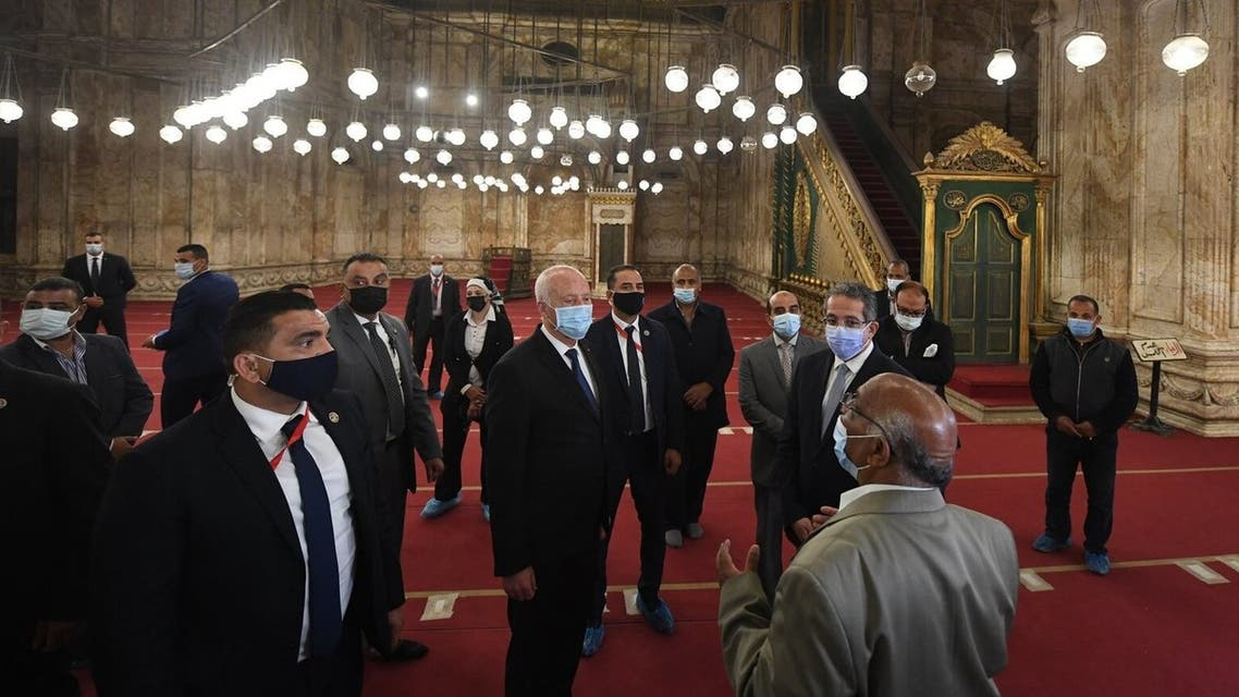 الرئيس التونسي في القاهرة