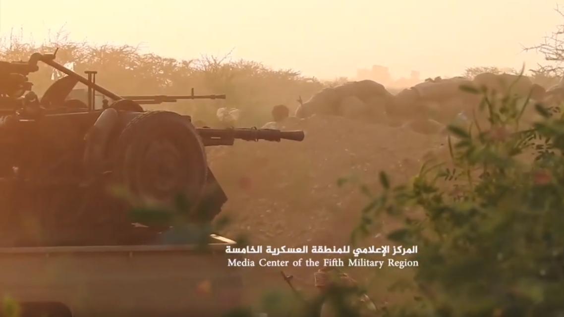 الجيش اليمني في حجة اليمن 10 ابريل 2021