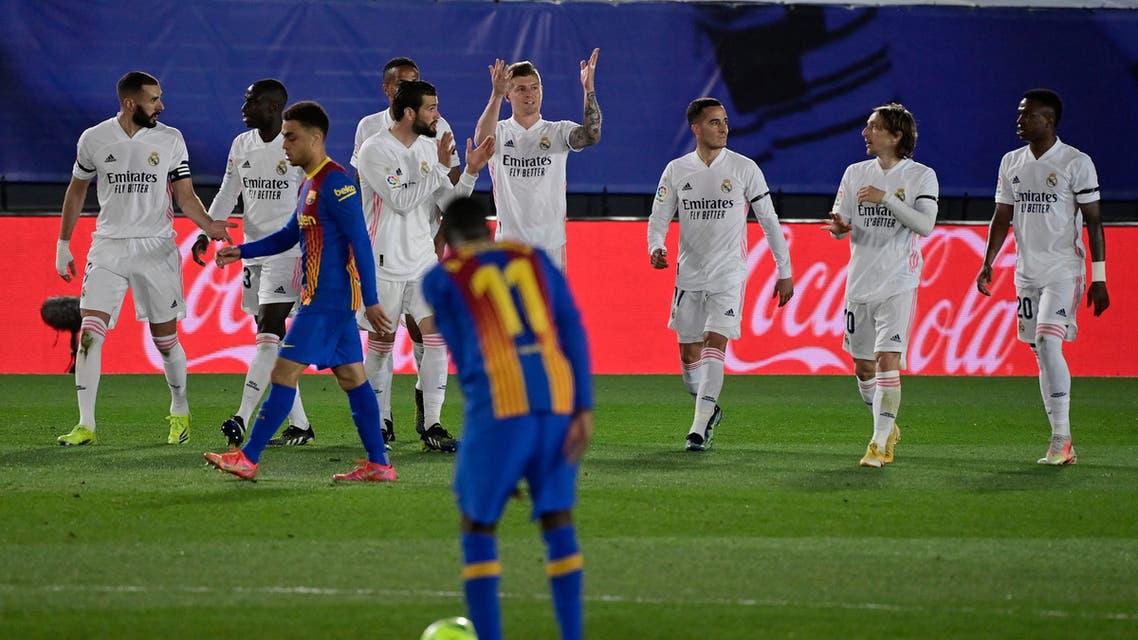 ريال مدريد كروس برشلونة