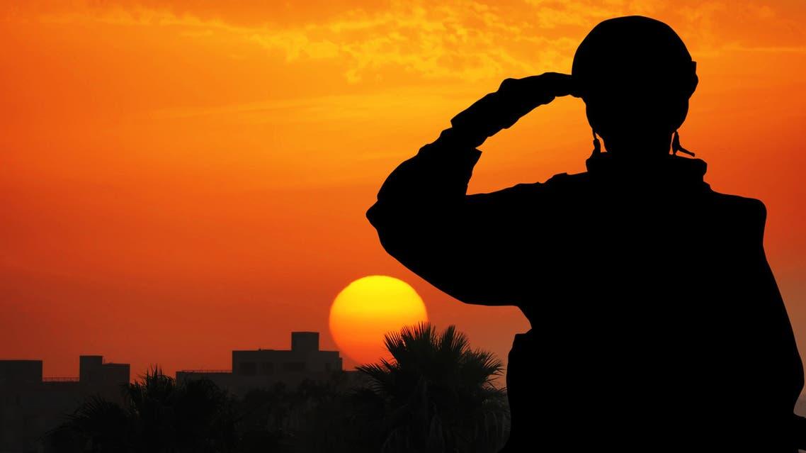 صورة تعبيرية لضابط