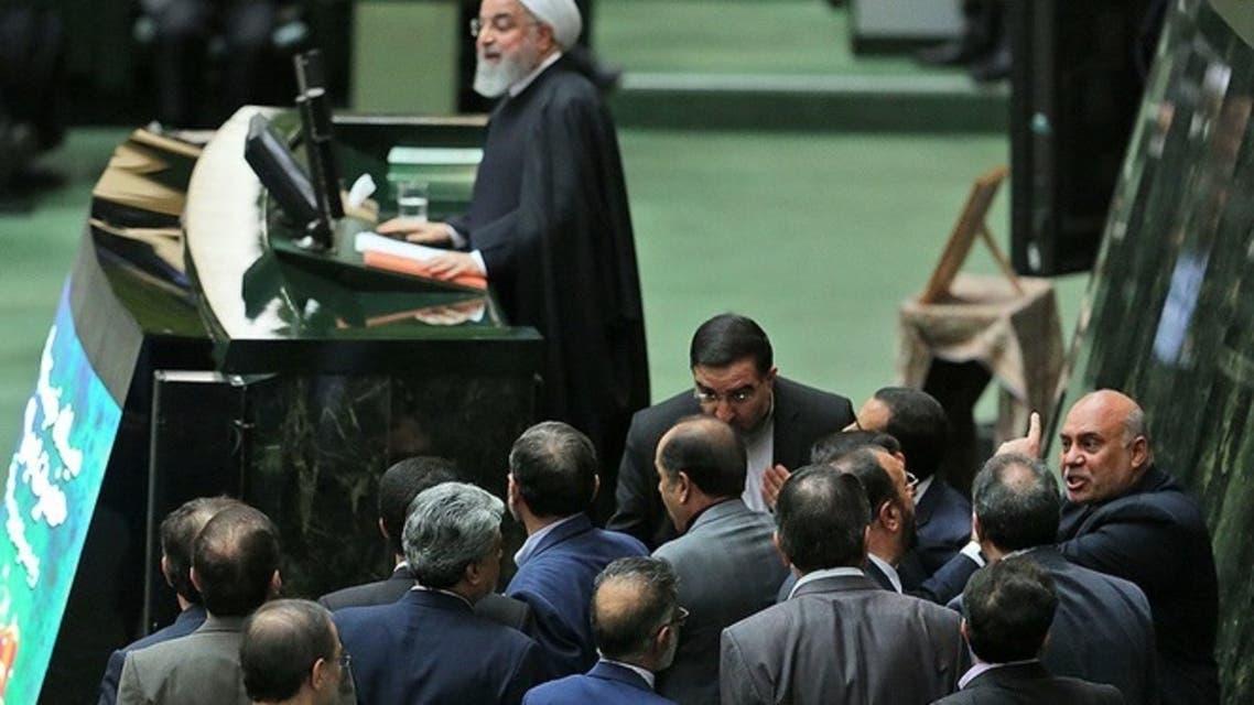 روحانی در مجلس - آرشیو