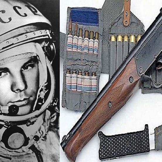 لماذا حمل أول رائد فضاء مسدسا معه في المركبة ليحميه؟