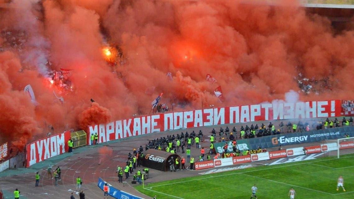 صربيا جماهير