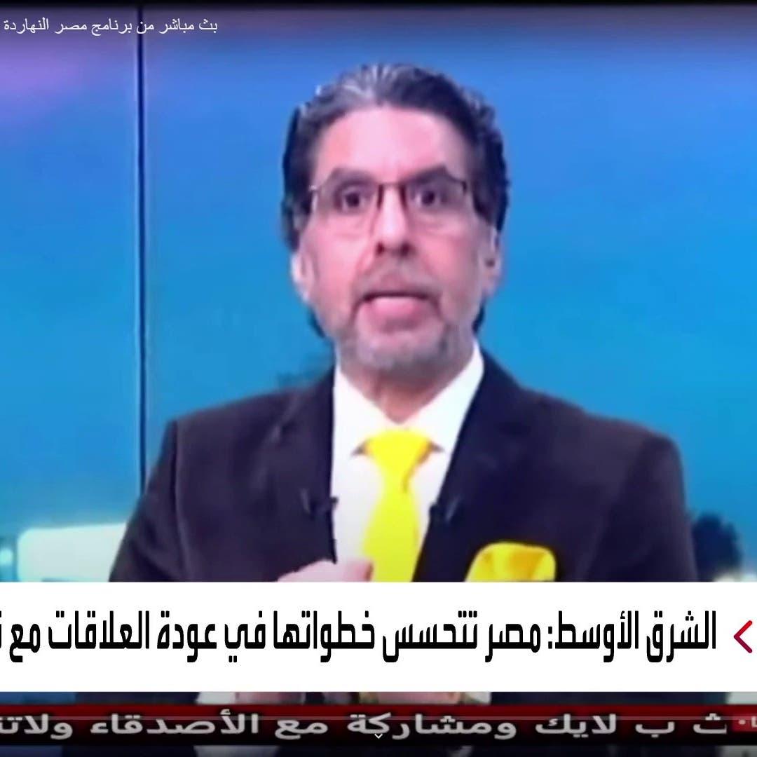 أنقرة توقف برنامجي المذيعين بقنوات الإخوان معتز مطر ومحمد ناصر