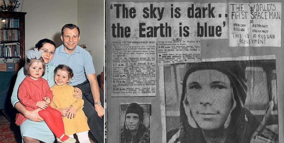 أول رائد فضاء