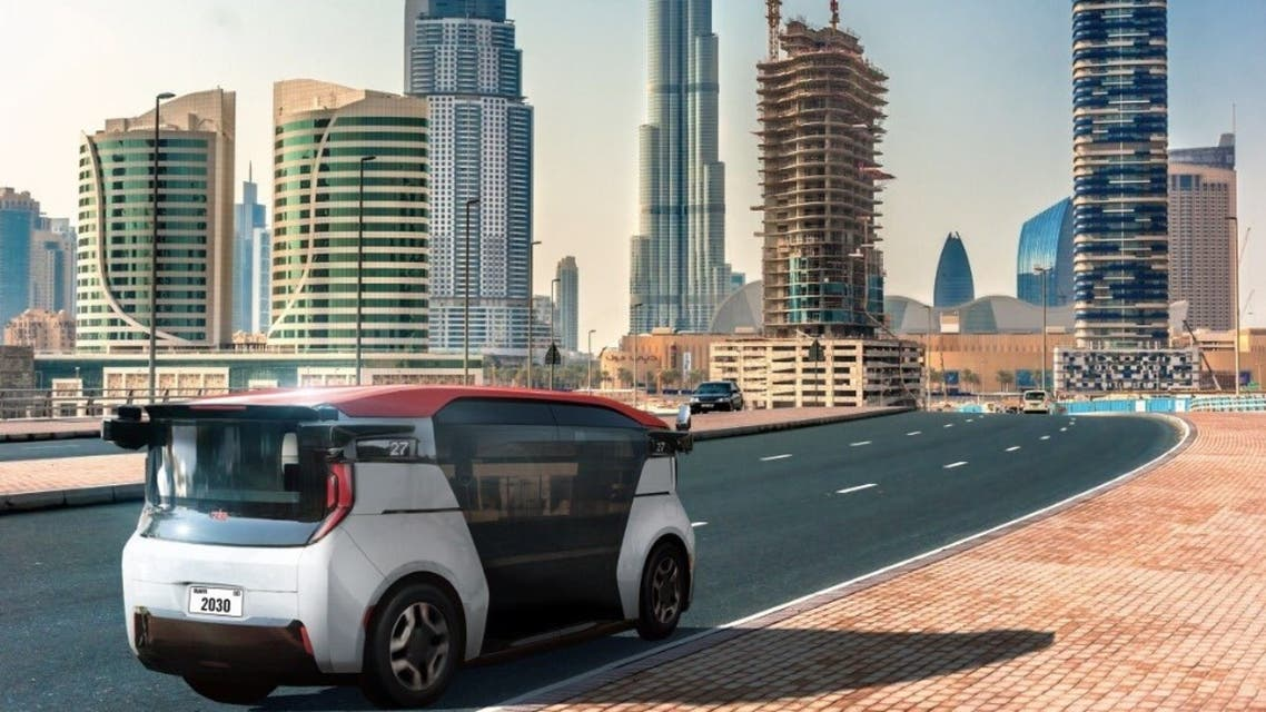 Dubai will deploy GM autonomous vehicles in the emirate from 2023. (Twitter)