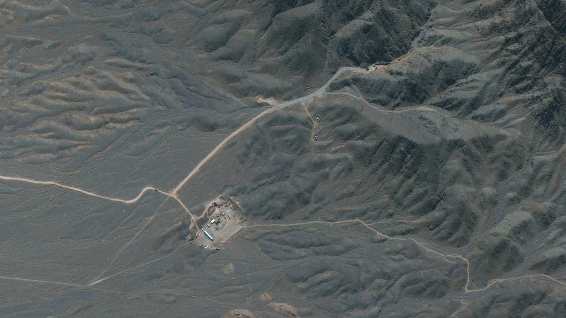 صورعبر الأقمار الصناعية لموقع منشأة نطنز الإيرانية (أرشيفية- فرانس برس)