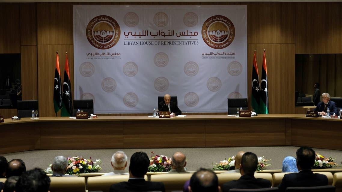 من البرلمان الليبي (فرانس برس)