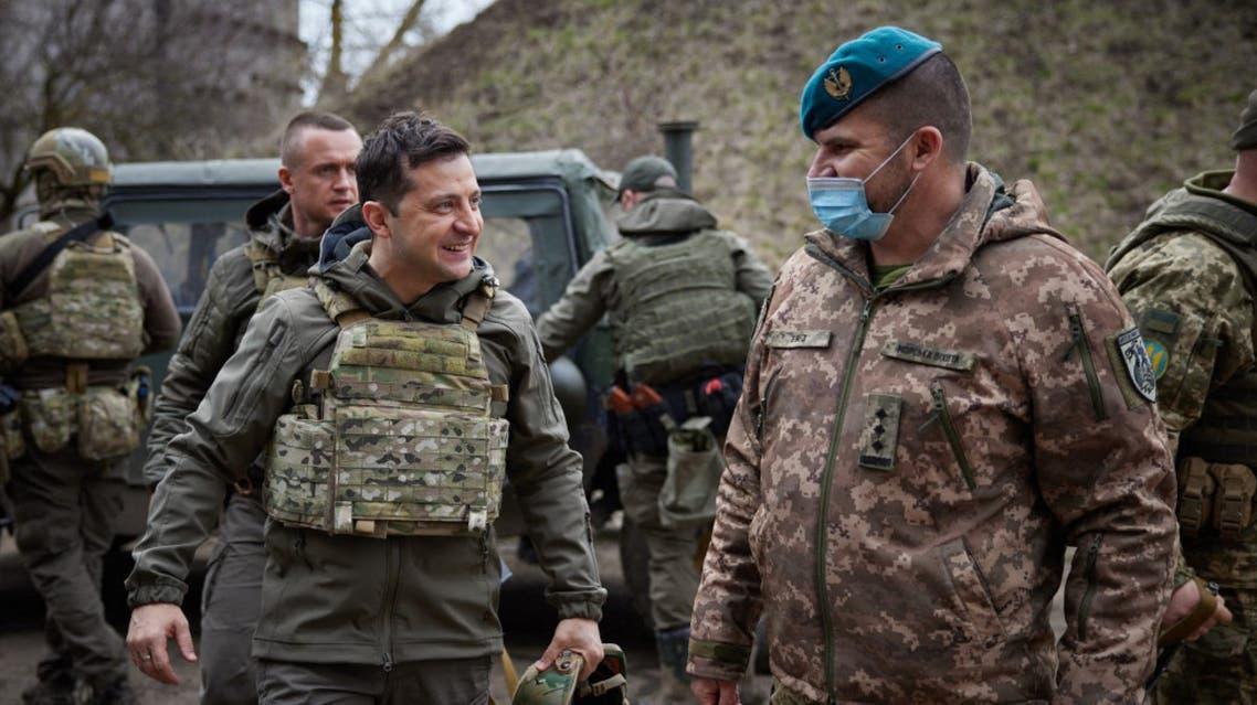 قوات من الجيش الأوكراني (فرانس برس)