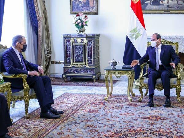 كواليس لقاء لافروف في مصر.. مصادر تكشف