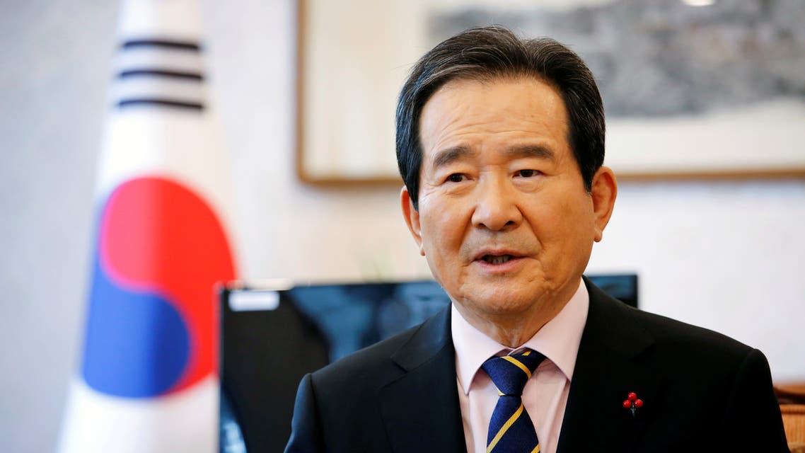 FILE PHOTO: South Korea's Prime Minister Chung Sye-kyun speaks during an interview with Reuters in Seoul, South Korea, January 28, 2021. (File photo: Reuters)