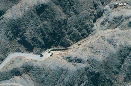 تصاویر ماهواره ای از سایت نطنز