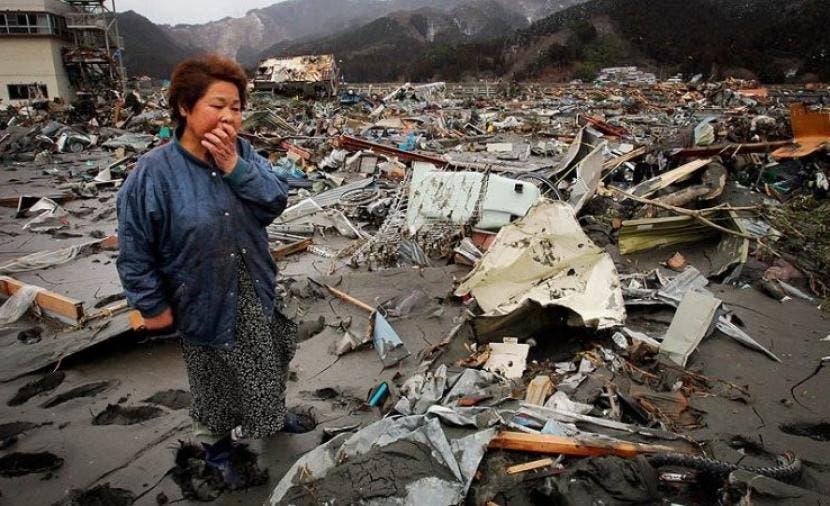 من زلزال فوكوشيما