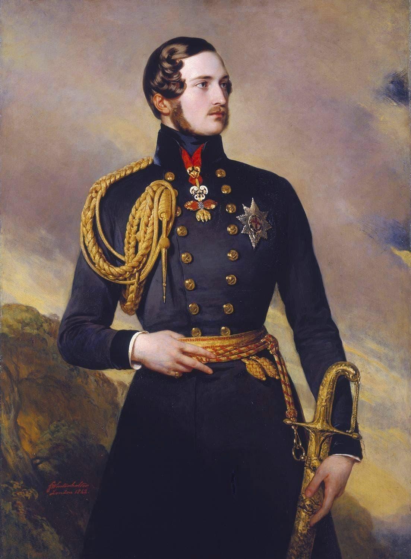 لوحة تجسد الأمير ألبرت