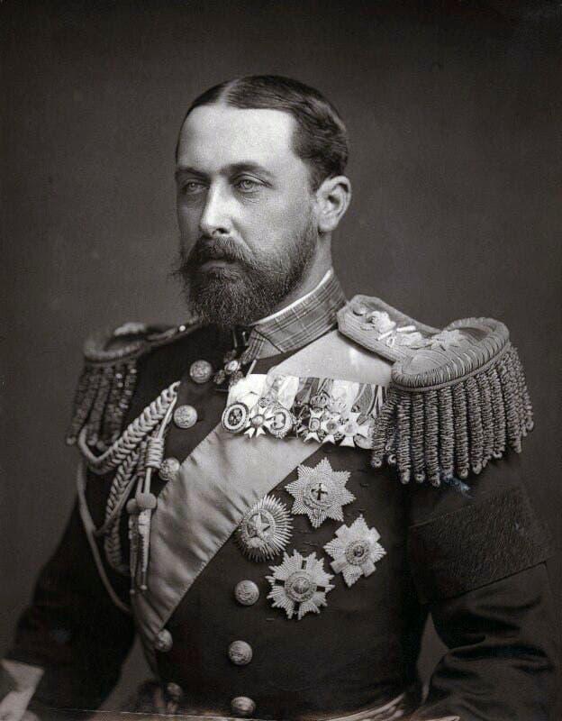 صورة للأمير ألفرد ابن الملكة فكتوريا