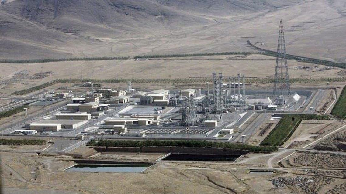 منشاة نطنز النووية في إيران التي استهدفها هجوم مؤخراً