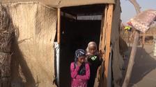 فيديو.. مأساة طفلتين بعد قتل ميليشيات الحوثي والدهما