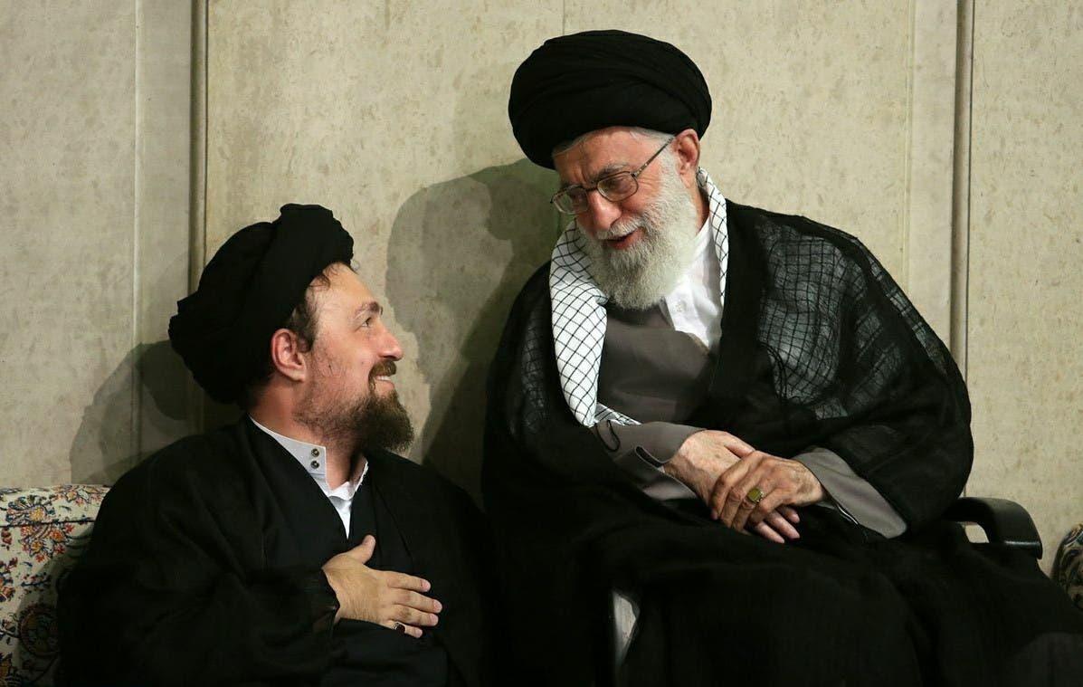 حسن خمینی اور علی خامنہ ای