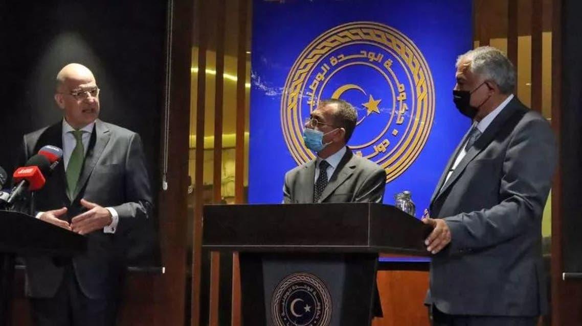وزير الخارجية اليوناني في بنغازي