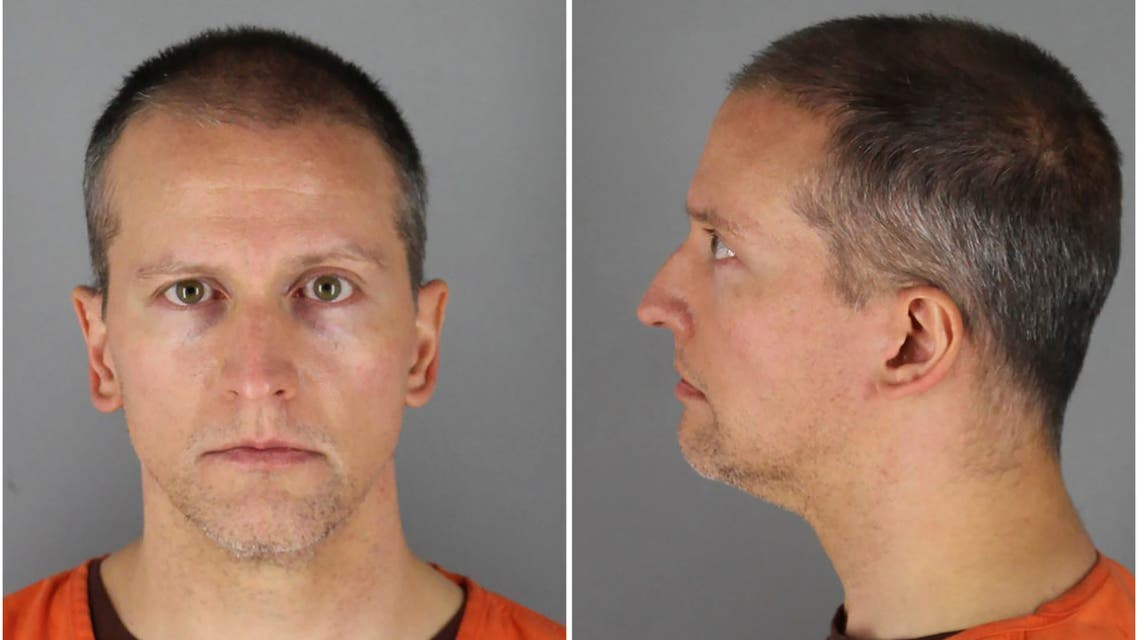 Former Minnesota police officer Derek Chauvin poses in a combination of booking photographs at Hennepin County Jail in Minneapolis, Minnesota, U.S. May 31, 2020. Picture taken May 31, 2020. (Reuters)