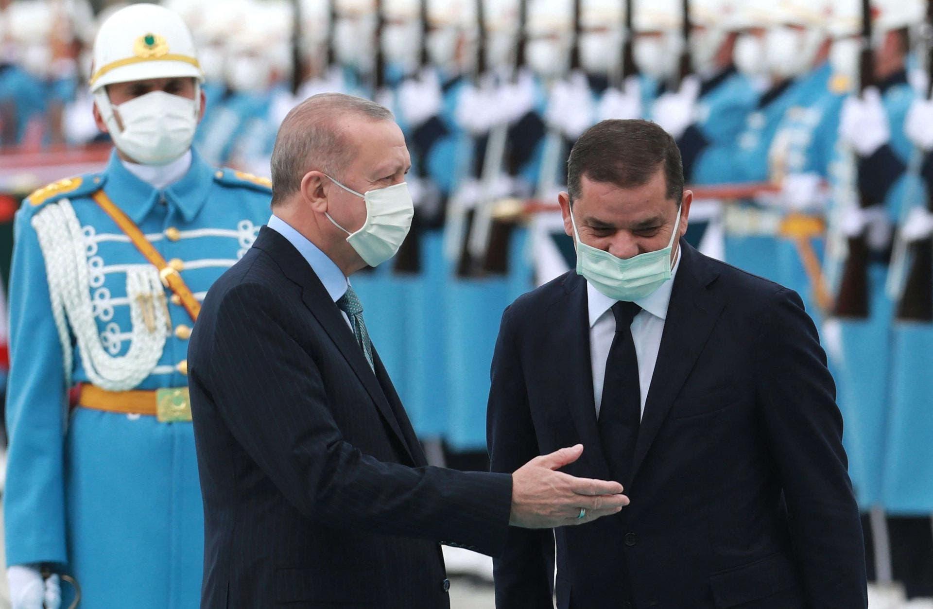 أردوغان والدبيبة