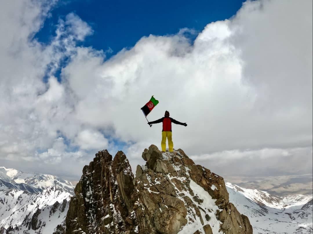 زنان کوهنورد افغان