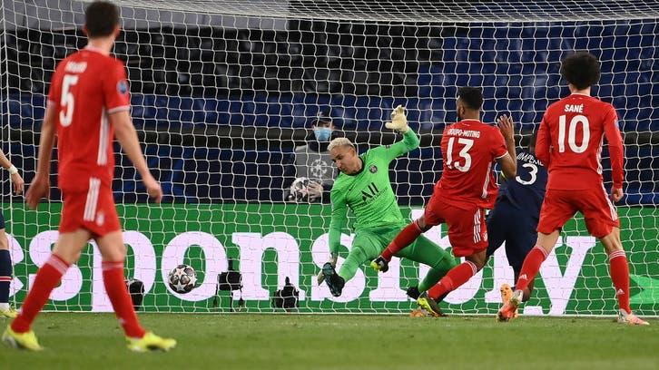 باريس يخسر أمام بايرن ويتأهل إلى نصف النهائي
