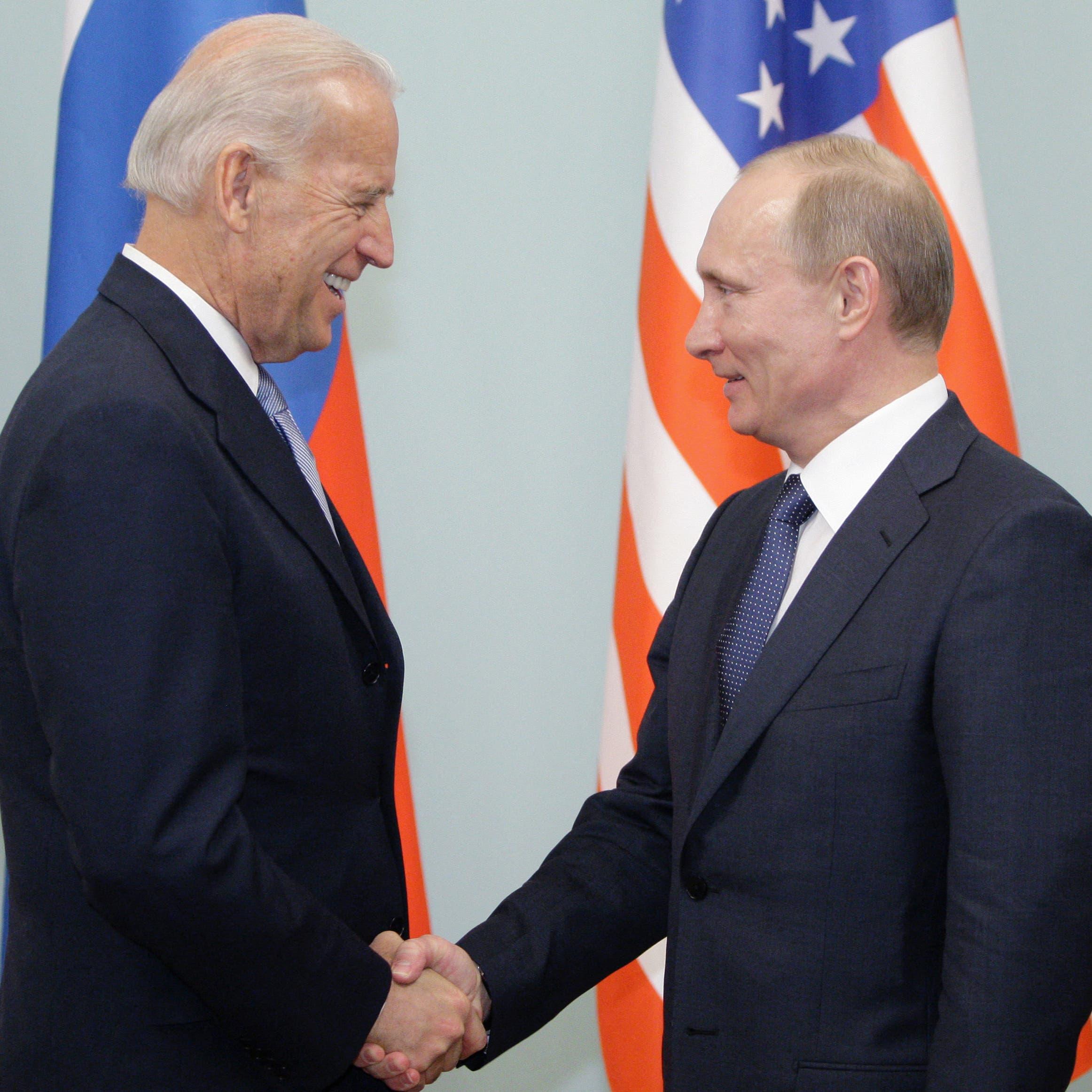 """بوتين """"سيدرس"""" مقترح بايدن بعقد قمة بينهما"""