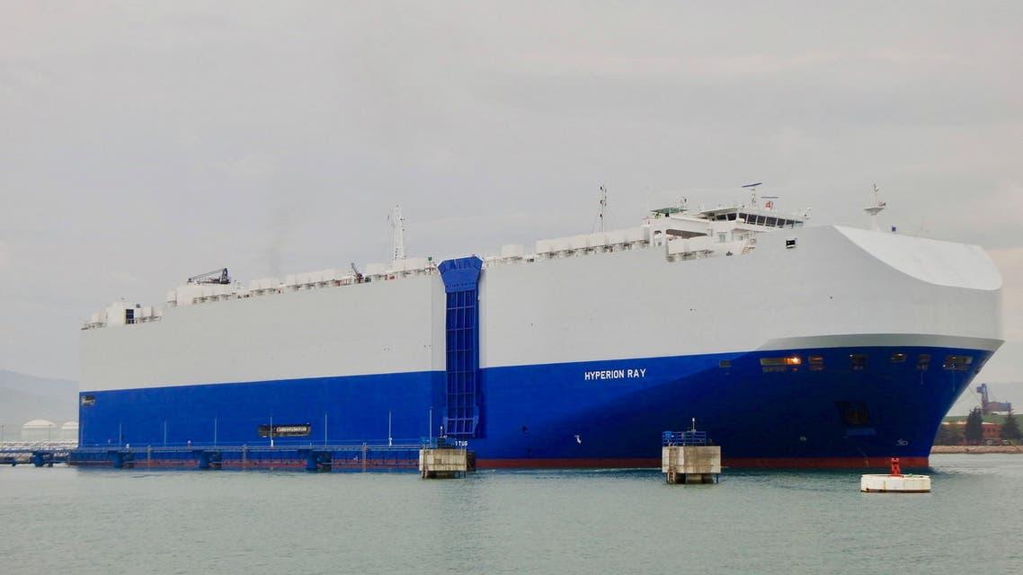 سفينة الشحن الإسرائيليى هايبريون راي