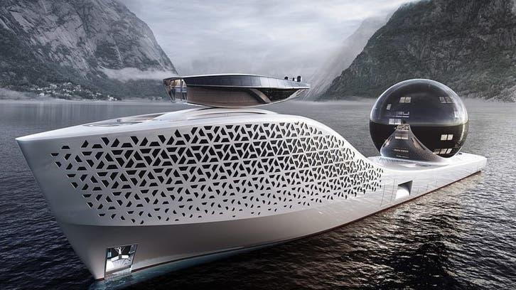 أكبر من تيتانيك.. سفينة بحجم 3 ملاعب كرة قدم وهذه مهمتها