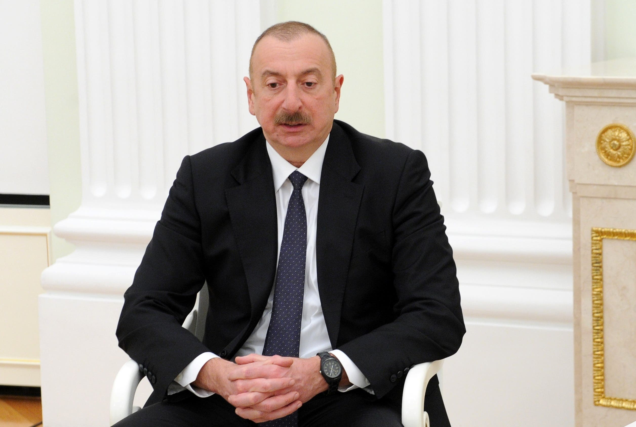 Azerbaijan's President Ilham Aliyev. (File photo: Reuters)
