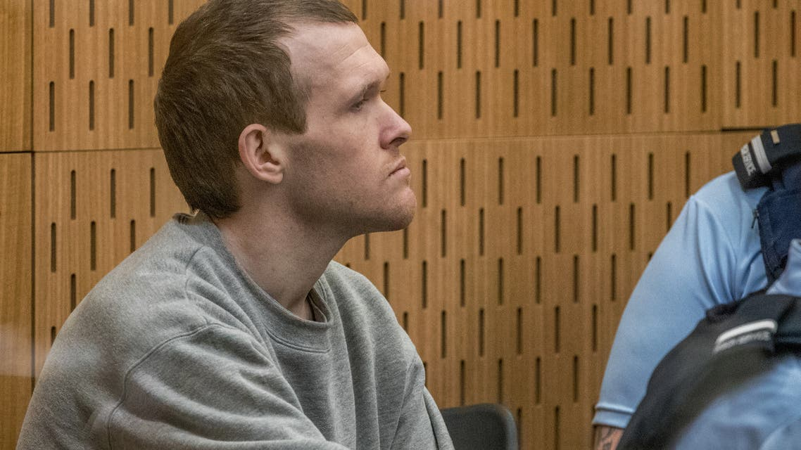 Brenton Tarrant, the gunman who shot and killed worshippers in the Christchurch mosque attacks, is seen during his sentencing at the High Court in Christchurch, New Zealand, August 26, 2020. (Reuters)