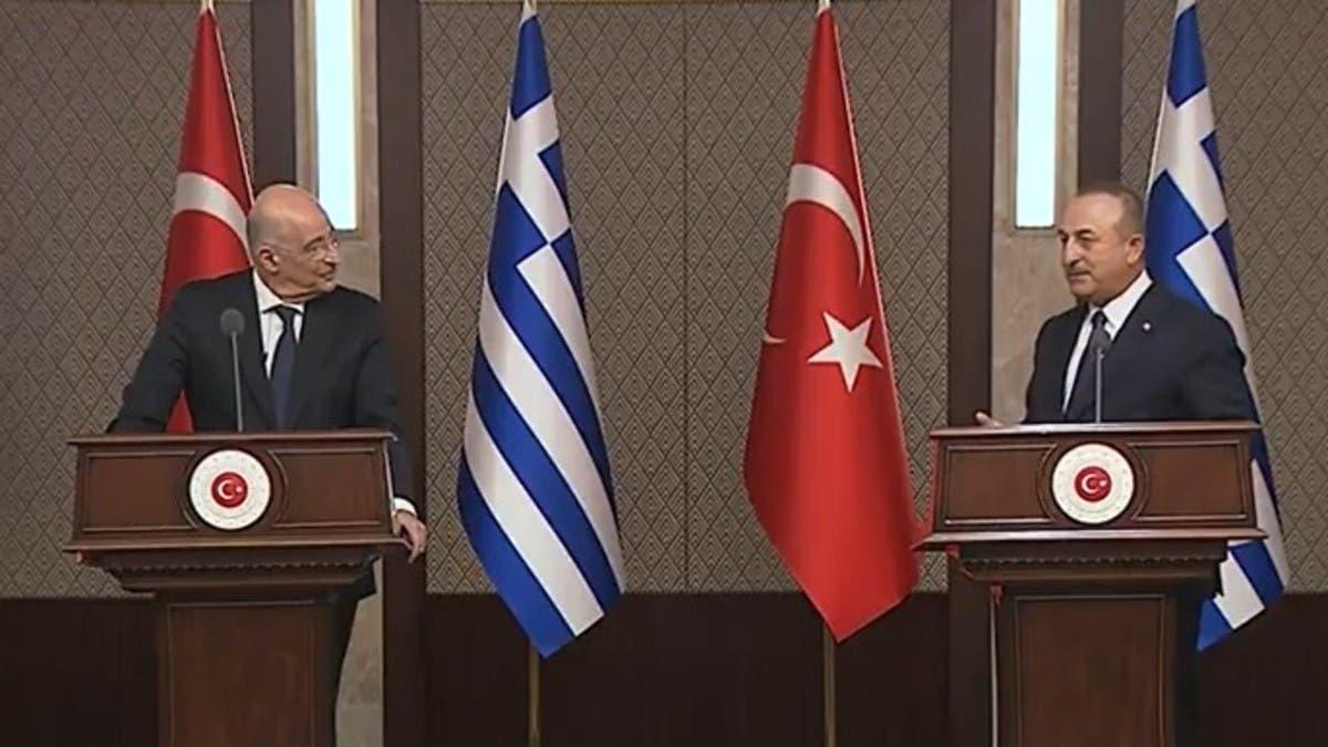 سجال على الهواء.. وزير خارجية تركيا لليونان: نرفض اتهامكم