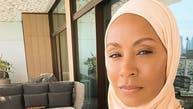 تصویری؛ استقبال هواداران «جادا سمیث» از حجاب پوشی او در ماه رمضان