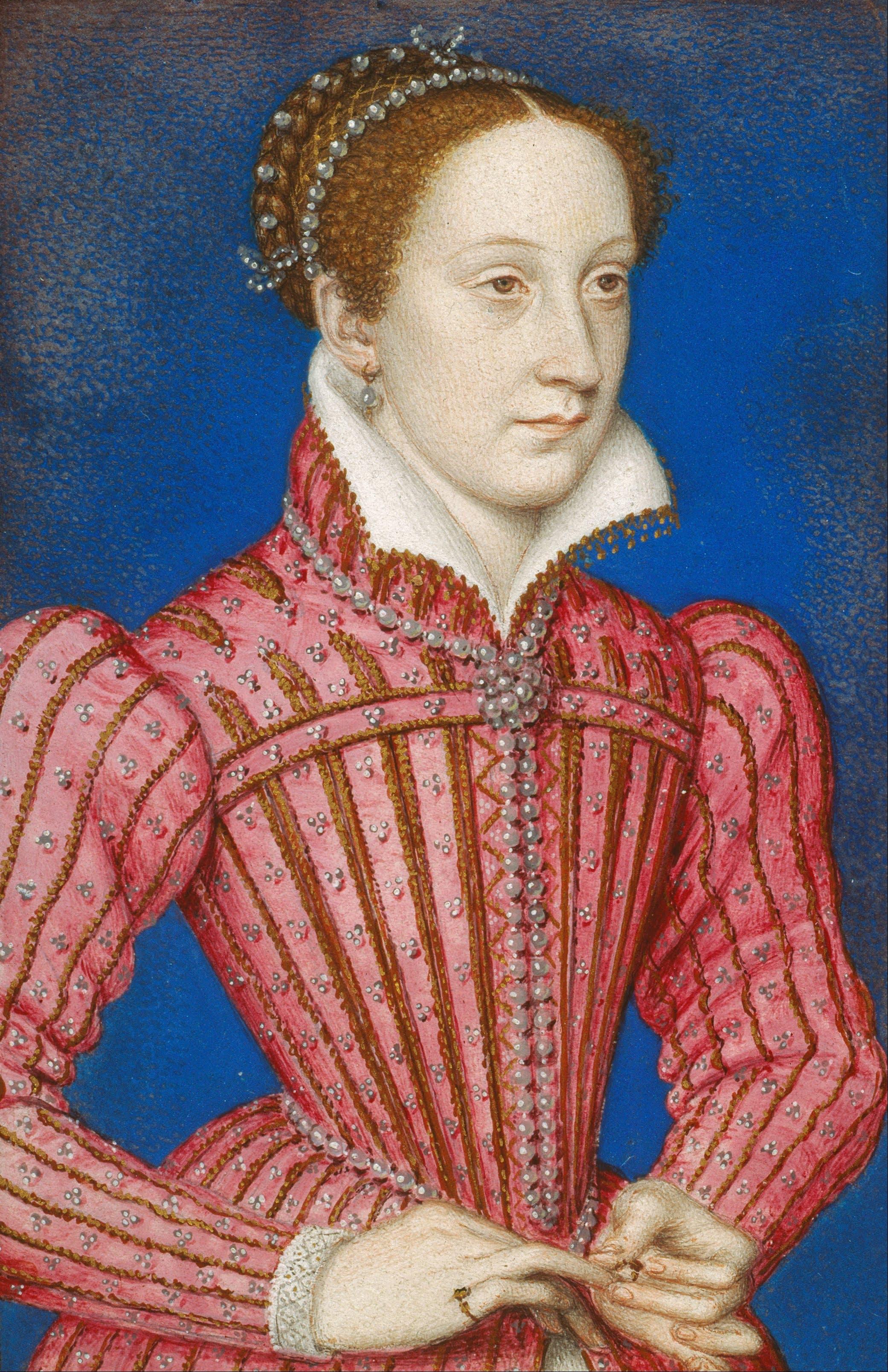 رسم تخيلي لماري ستيوارت ملكة إسكتلندا