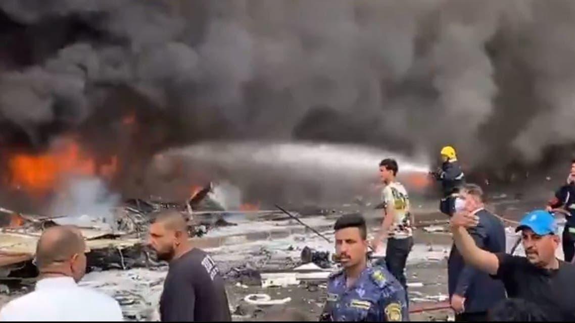 من الانفجار