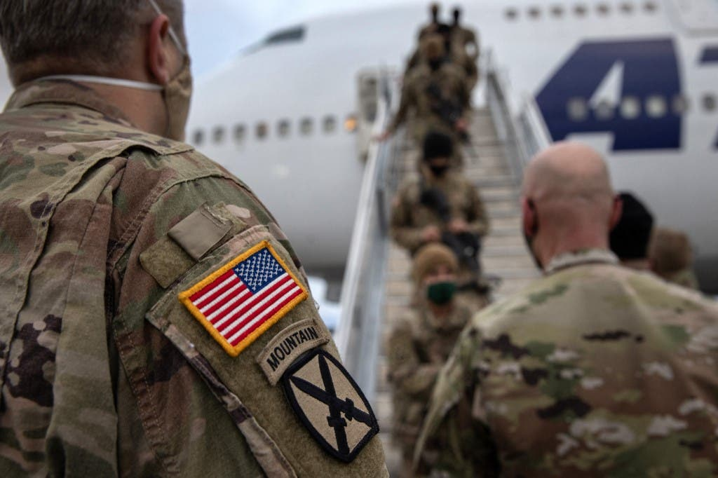 جنود أميركيون عادوا إلى بلادهم بعد الخدمة في أفغانستان - فرانس برس أرشيفية