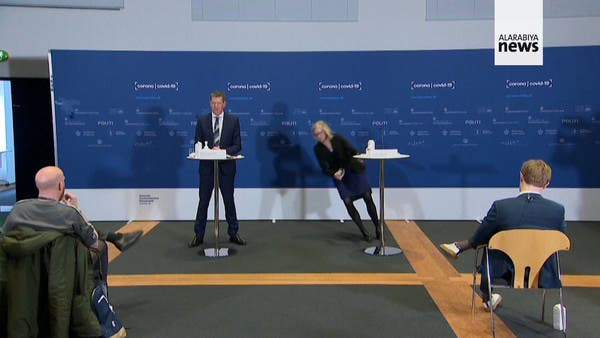 Watch: Danish health official faints while announcing halt of AstraZeneca vaccine